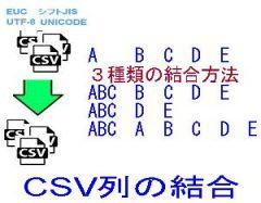 CSV列の結合