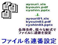 ファイル名連番設定ロゴ
