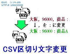 CSV区切文字変更ロゴ