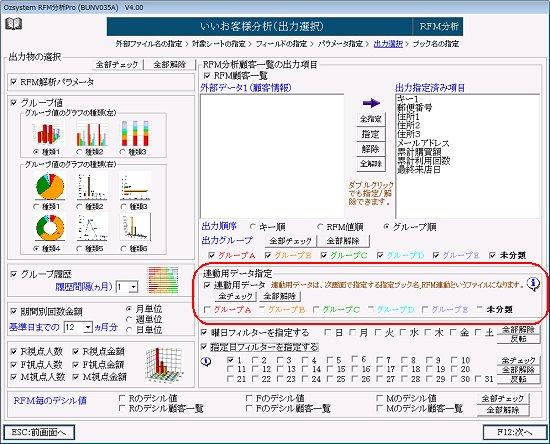 RFM分析連動